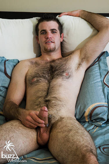 Hairy gay man video